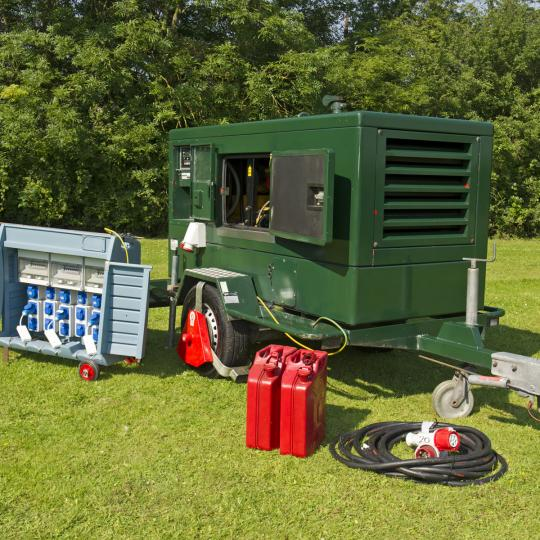 Super Silent electricity generators for parties and events and weddings essex suffolk cambridgeshire norfolk